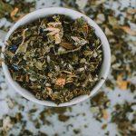 Kräutertees Tasse Kräuter Tee