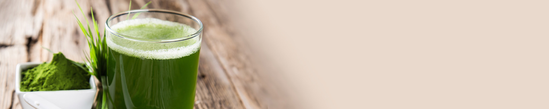 Grüne Superfoods