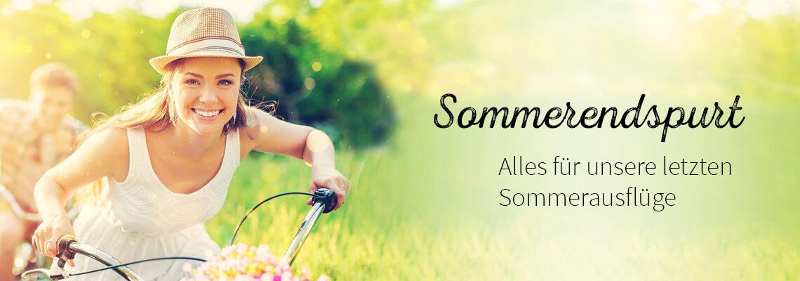 Sommerendspurt - nach draussen