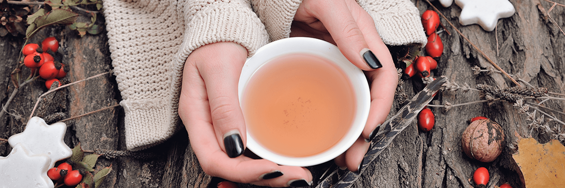 Hagebutte Tee bei Erkältung