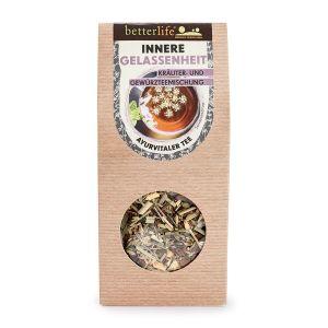 BETTERLIFE Innere Gelassenheit Kräuter- und Gewürzteemischung ayurvitaler Tee