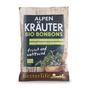 BETTERLIFE betterlife Alpen Kräuter Bio Bonbons