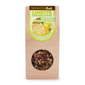BETTERLIFE Limette Sommerzitrus aromatisierte Früchtetee-Mischung