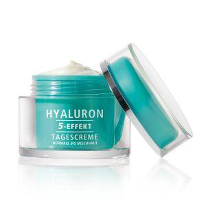 HYALURON 5-EFFEKT Tagescreme für normale bis Mischhaut