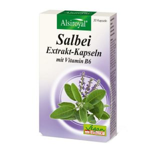 Salbei-Extrakt-Kapseln