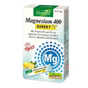 Magnesium 400 DIREKT (Zitrone)