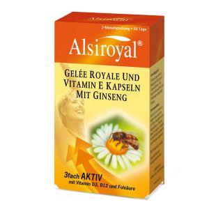 Gelée Royale und Vitamin E Kapseln mit Ginseng