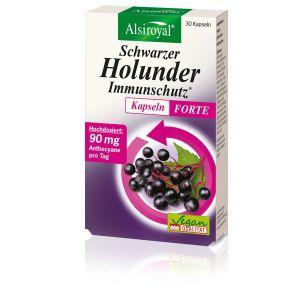 Schwarzer Holunder Immunschutz* Kapseln FORTE