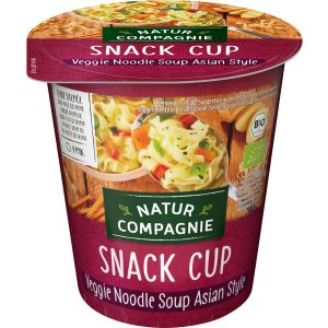 Snack Cup Veggie Noodle Soup Asian Style