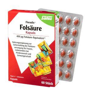 Salus® Floradix® Folsäure Kapseln 60 Stk
