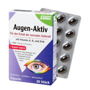 Augen-Aktiv Kapseln 30 Kps