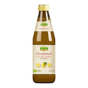 Zitronensaft Muttersaft bio