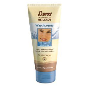 Luvos-Heilerde Waschcreme mit Traubensilberkerze