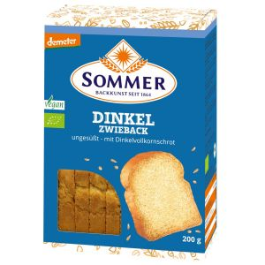 Demeter Dinkel-Zwieback, ungesüßt