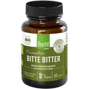 Brecht Bitte Bitter Komplex Nahrungsergänzungsmittel 60 Kapseln