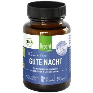 Brecht Gute Nacht Komplex Nahrungsergänzungsmittel 60 Kapseln