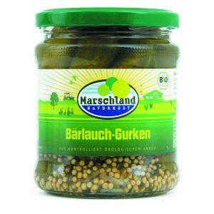 Bioland Bio-Bärlauch-Gürkchen 370 ml Gl. MARSCHLAND