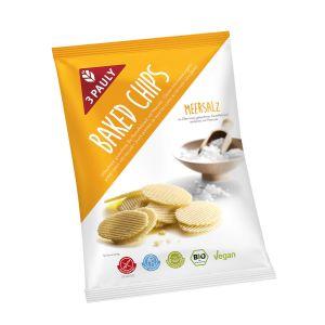 Baked Chips Meersalz Bio glutenfrei