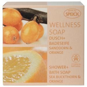 Wellness Soap, Dusch- und Badeseife Sanddorn & Orange