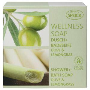 Wellness Soap, Dusch- und Badeseife Olive & Lemongras
