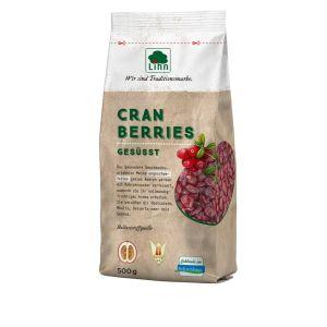 Cranberries, leicht gesüßt, ganze Früchte