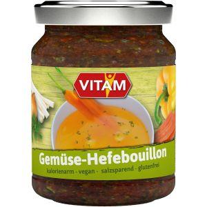 Gemüse-Hefebouillon, pastös