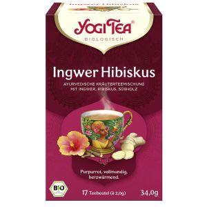 Yogi Tea® Ingwer Hibiskus Bio