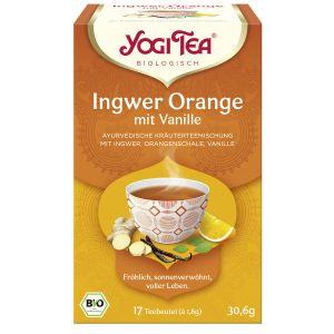 Yogi Tea® Ingwer Orange mit Vanille Bio