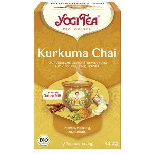 Yogi Tea® Kurkuma Chai Bio