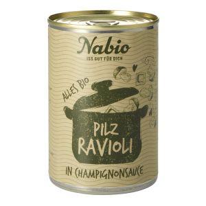 Nabio Ravioli in Champignonsauce