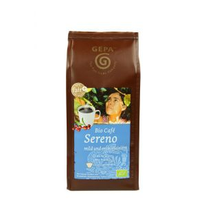 Bio Café Sereno, gemahlen, entkoffeiniert
