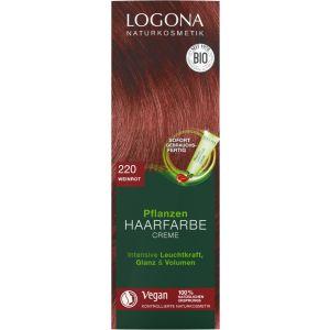Pflanzen Haarfarbe Creme 220 weinrot