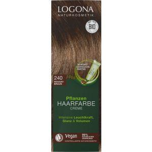 Pflanzen Haarfarbe Creme 240 nougatbraun
