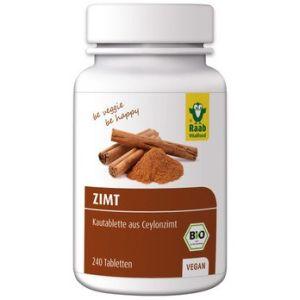 RAAB VITALFOOD Bio Zimt Tabletten