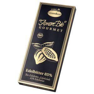Bio-Edelbitter-Schokolade, 85% Kakaoanteil