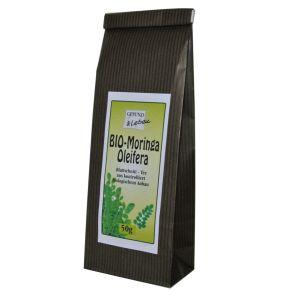 BIO Moringa Oleifera Blattschnitt-Tee - Beutel