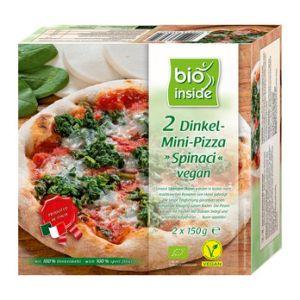 BIO INSIDE Dinkel-Mini-Pizza ¨Spinaci¨ vegan