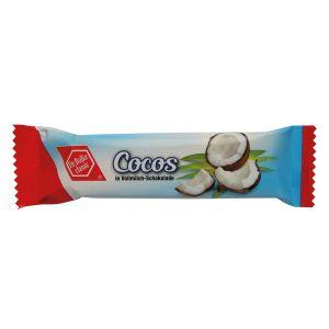 Cocos-Fruchtriegel in Edel-Vollmilch-Schokolade