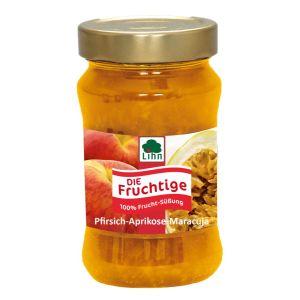 Die Fruchtige Pfirsich-Aprikose-Maracuja