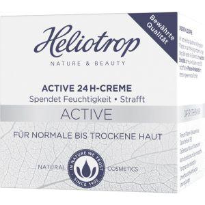 Active 24h- Creme, spendet der Haut 24 Stunden Feuchtigkeit, mildert Fältchen, z