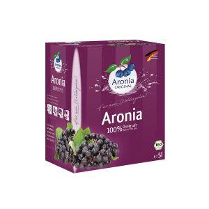 Bio Aronia 100% Direktsaft 5l