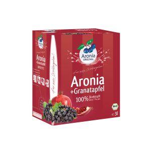 Bio Aronia+Granatapfel 100% Direktsaft 3l
