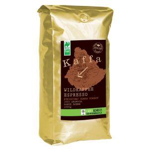 Kaffa Wildkaffee, Espresso Roast, ganze Bohne, 1000g, bio- und Naturland Fair-ze