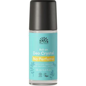 Urtekram No Perfume Crystal Deodorant Roll-On, 50 ml