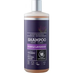 URTEKRAM Purple Lavender Shampoo Glanz 500 ml