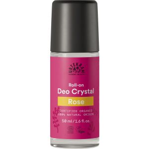 Urtekram Rose Crystal Deodorant Roll-on 50 ml