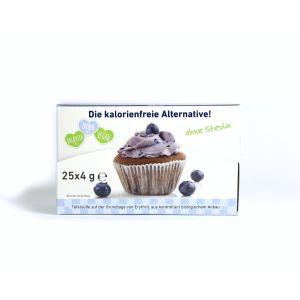 Kalorienfreie BioSüße Bio Erythrit To go Box 25 St X 4g