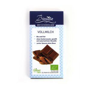 Biosüße Bio-Schokolade Vollmilch Tafel 40g