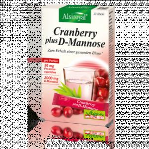 Cranberry plus D-Mannose