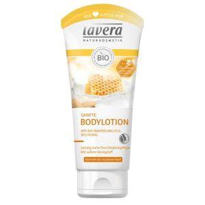 LAVERA Sanfte Bodylotion Bio-Mandelmilch & Bio-Honig